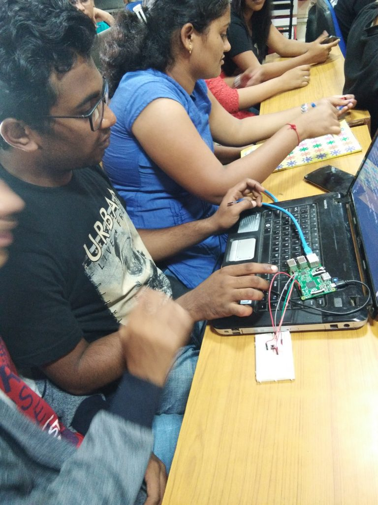 Hands on session on RaspberryPi